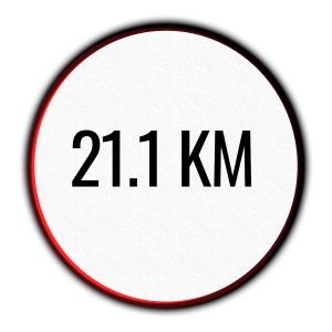 icon of 21.1 km half marathon