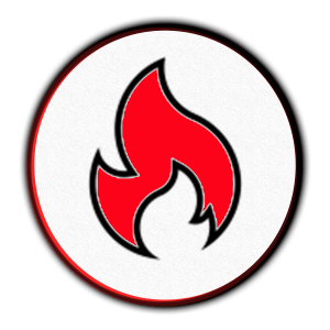 icon of a fire