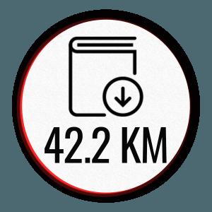 Download PDF program icon 42.2 km - Marathon