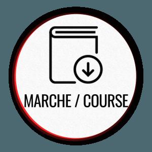 Download PDF program walk-run icon